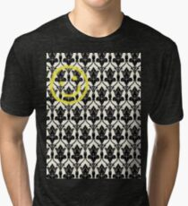 BBC Sherlock 'Bored Smiley Face'  Tri-blend T-Shirt