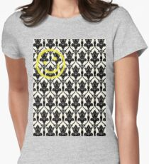 BBC Sherlock 'Bored Smiley Face'  Womens Fitted T-Shirt