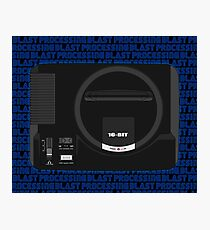 Megadrive/Genesis - Blastfade Photographic Print