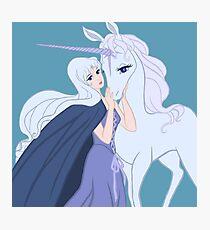 Amalthea and the Unicorn Photographic Print