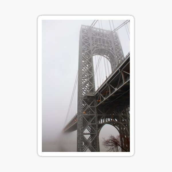 George Washington Fog Sticker