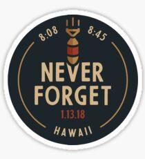 I survived Ballistic Missile Day - Never forget Sticker