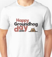 Happy Groundhog day gift Unisex T-Shirt