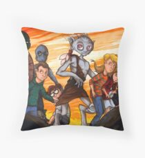 """Forts"" Characters Throw Pillow"