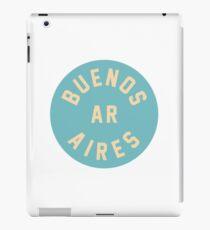 Buenos Aires - Argentina - Blue Circle iPad Case/Skin