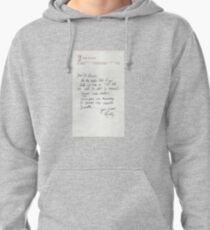 Dear Doc - Back To The Future Pullover Hoodie