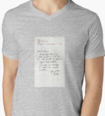 Dear Doc - Back To The Future Men's V-Neck T-Shirt