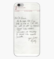 Dear Doc - Back To The Future iPhone Case