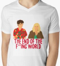 The End of the F***ing World V-Neck T-Shirt