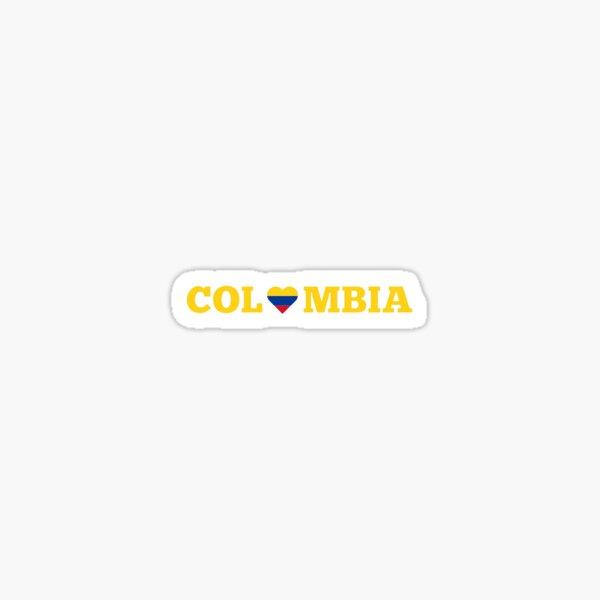 AMO A COLOMBIA Sticker