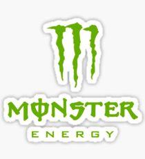 Simple Monster Energy Logo Sticker