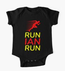 Run Ian Run (Custom Upon Request) Short Sleeve Baby One-Piece