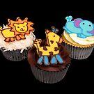 Safari Cupcakes by tali