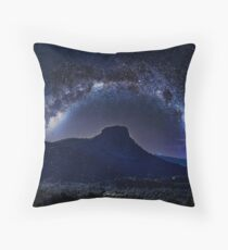 Thumb Butte Dripping in Milk Throw Pillow