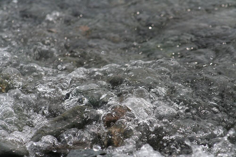 Flowing water by Nunavutguy