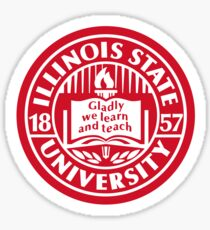 Illinois State Logo Sticker Sticker