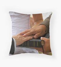 The Vows Throw Pillow
