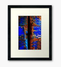 Moroccan Rust II Framed Print