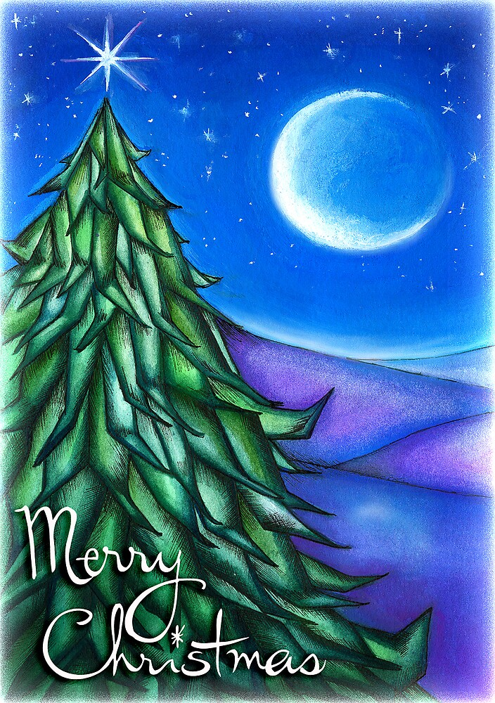 White Christmas by RedSparrow
