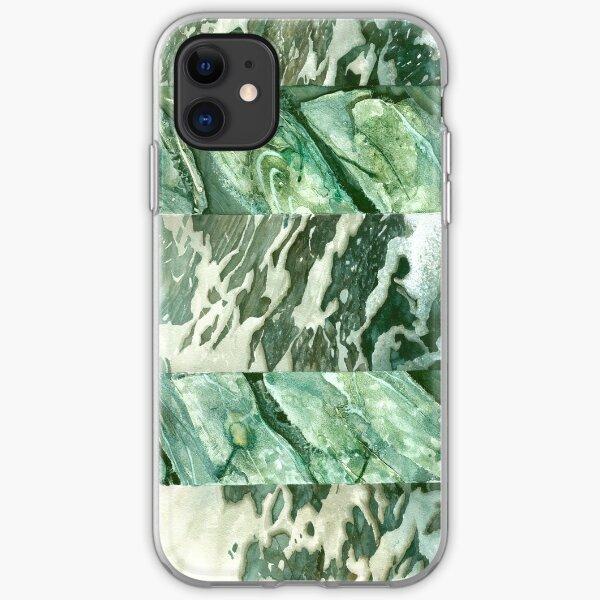 D A Light Watercolour - Abereiddy iPhone Soft Case
