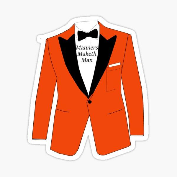 Manners maketh man Sticker