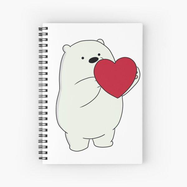 We Bare Bears Ice Bear Cuaderno de espiral