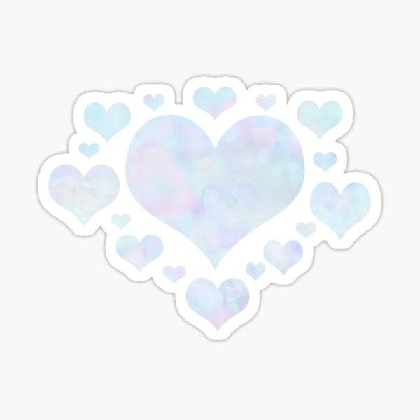 Rainbow Unicorn Pastel Fluffiness Sticker