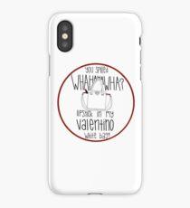 57f096c25ac1 WHAHHAHAWAHHA lipstick in my valentino white bag  (vine) iPhone X Case