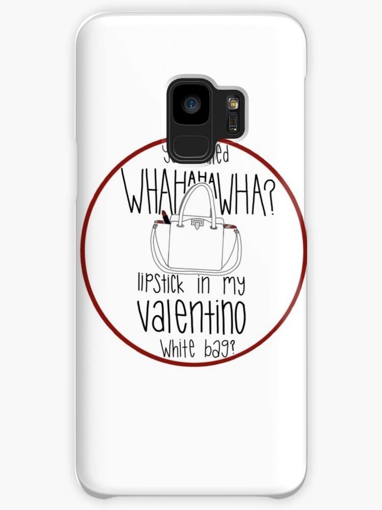 98681f624cdd WHAHHAHAWAHHA lipstick in my valentino white bag  (vine) by mageemimi