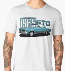 1965 Pontiac GTO 400 Classic Muscle Car Men's Premium T-Shirt