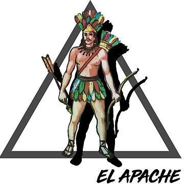 El apache - The indian by ichindenshin