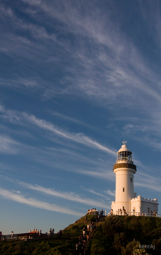 Byron Bay Lighthouse by kennly
