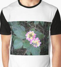 Stunning Purple and Yellow Wildflowers Graphic T-Shirt