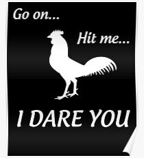 Don't Hit the Chicken Poster