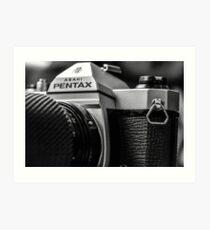 Pentax film Camera Art Print