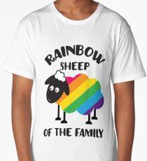 Rainbow Sheep Of The Family LGBT Pride Long T-Shirt
