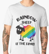 Rainbow Sheep Of The Family LGBT Pride Men's Premium T-Shirt