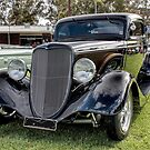 Beautiful Black 30's Hot Rod by Ferenghi