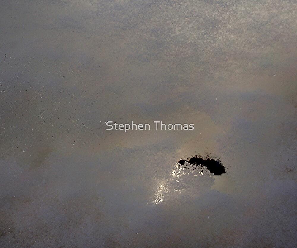 Hole Thru The Snow by Stephen Thomas