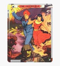 Vintage Comic Book Hero IBIS iPad Case/Skin