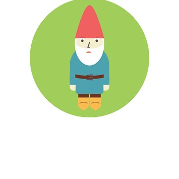 Retro Garden Gnome by TheNewAntique