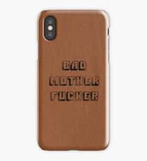 Bad Mother Fucker - Pulp Fiction (V2) iPhone Case/Skin