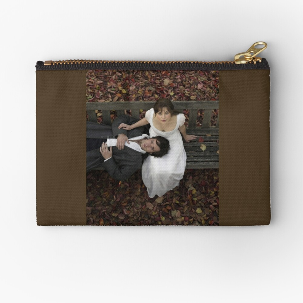 Pride and Prejudice in Autumn [Click to see items with this design] Zipper Pouch