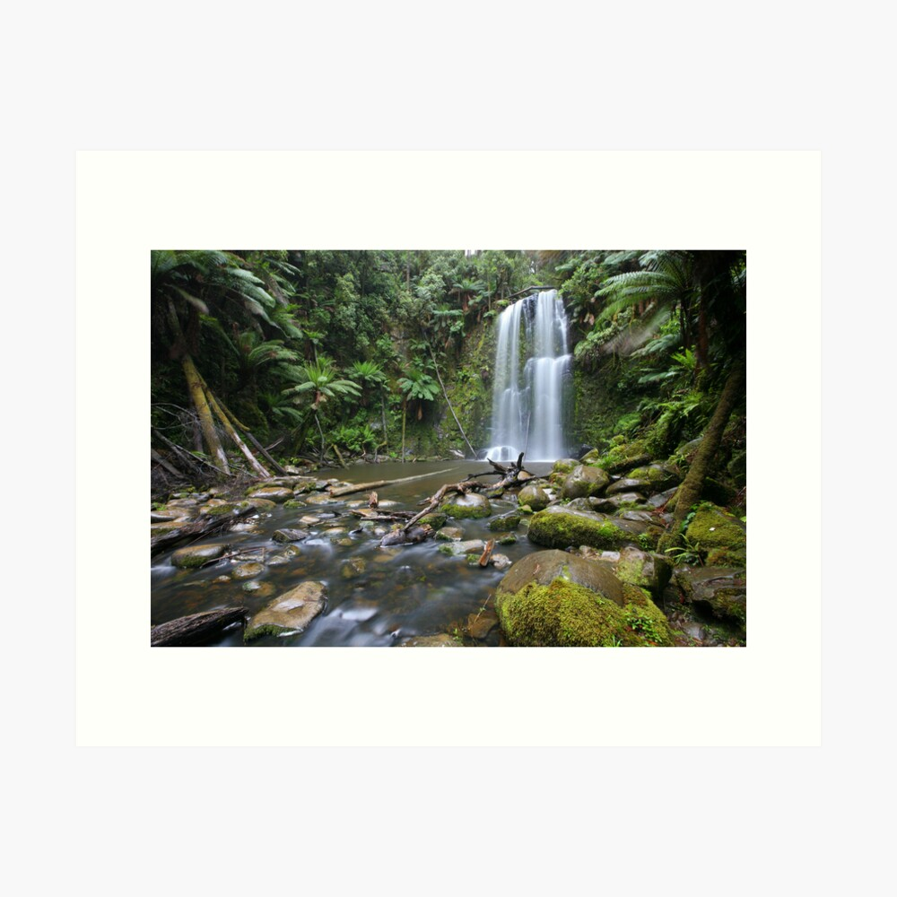 Beachamp Falls, Otways National Park, Australia Art Print