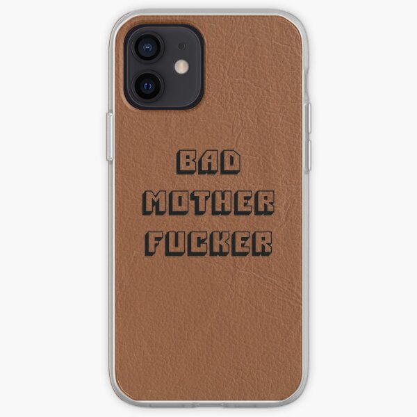 Bad Mother Fucker - Pulp Fiction Coque souple iPhone
