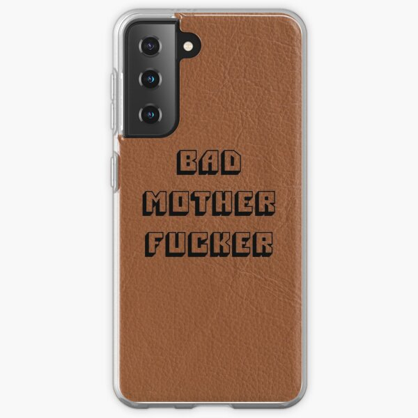 Bad Mother Fucker - Pulp Fiction Samsung Galaxy Soft Case
