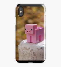 Minecraft Pig iPhone Case/Skin