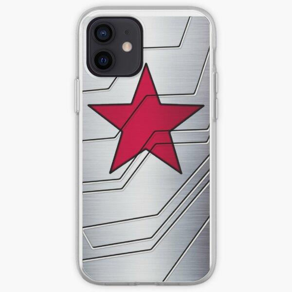 Soldado de invierno brazo Funda blanda para iPhone