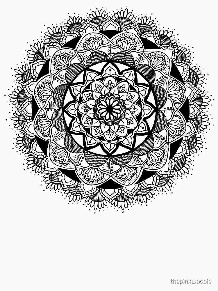 Mandala the First by thepinkwoobie
