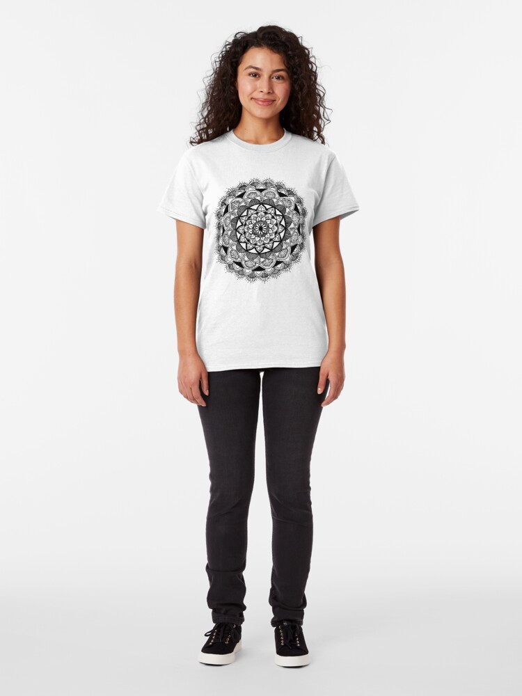 Alternate view of Mandala the First Classic T-Shirt